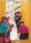 Children of Huyoc, Peru, in Traditional Dress
